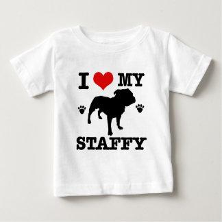 Love my staffy baby T-Shirt