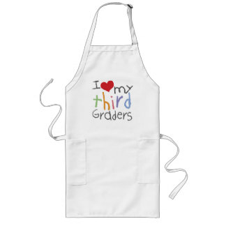 Love My Third Graders Apron