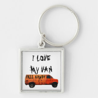 Love My Van Humor Key Ring