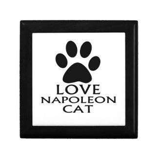 LOVE NAPOLEON CAT DESIGNS GIFT BOX