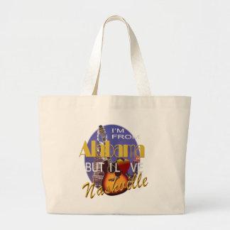 Love Nashville from Alabama Jumbo Tote