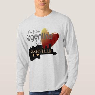 Love Nashville from Argentina Long Sleeve T-Shirt
