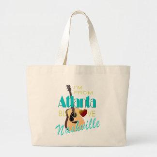 Love Nashville from Atlanta Jumbo Tote
