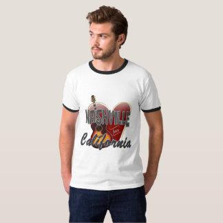 Love Nashville from California Men's T-Shirt