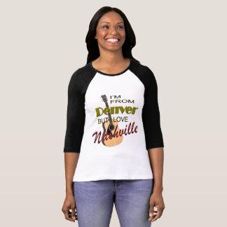 Love Nashville from Denver Raglan T-Shirt