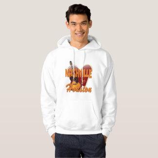 Love Nashville from Houston Men's Sweatshirt