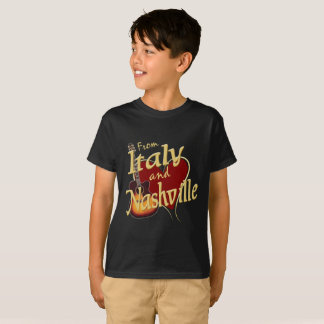 Love Nashville from Italy Kid's T-Shirt