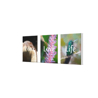 Love Nature Collection Canvas