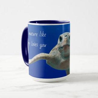 Love Nature Sea Turtle Mug
