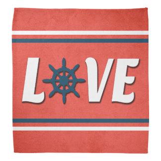 Love nautical design bandana