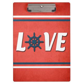 Love nautical design clipboard