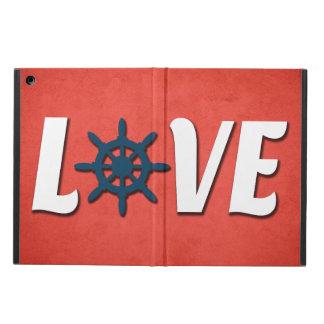 Love nautical design cover for iPad air