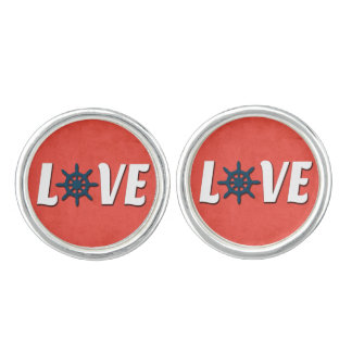 Love nautical design cufflinks