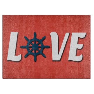 Love nautical design cutting board