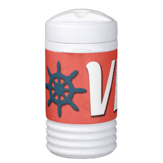 Love nautical design drinks cooler