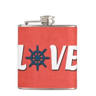 Love nautical design flasks