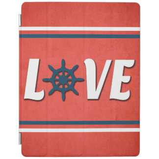 Love nautical design iPad cover