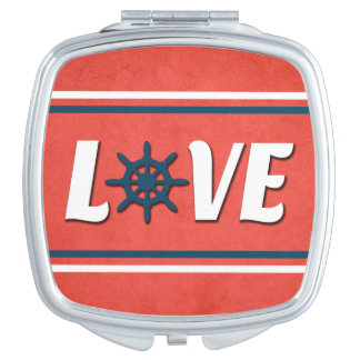 Love nautical design vanity mirror
