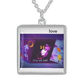 love neklece pendant