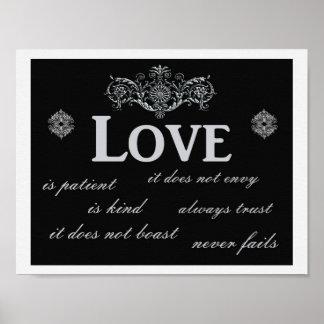 Love Never Fails --- Art print