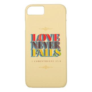 Love Never Fails: iPhone Case