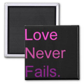 Love Never Fails Magnet