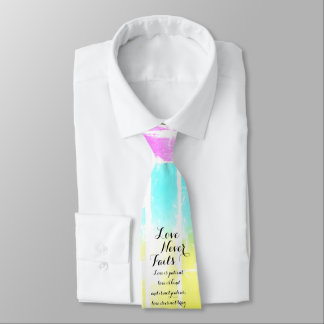 Love Never Fails Tie