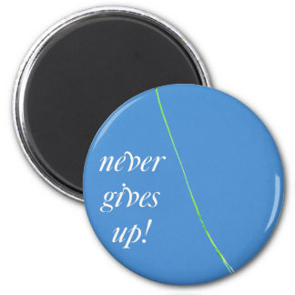 love never gives up magnet