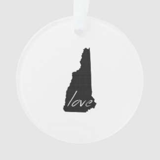 Love New Hampshire Ornament