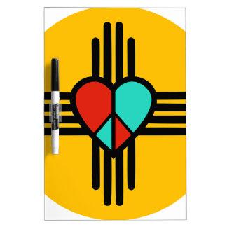 Love, New Mexico, Peace Dry-Erase Boards