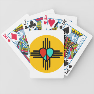 Love, New Mexico, Peace Poker Deck