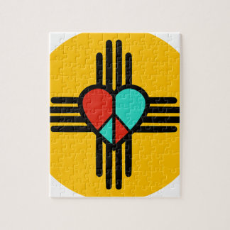 Love, New Mexico, Peace Puzzle