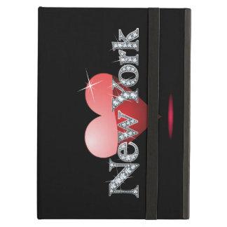 "Love New York ""Diamond Bling"" iPad Air Case"