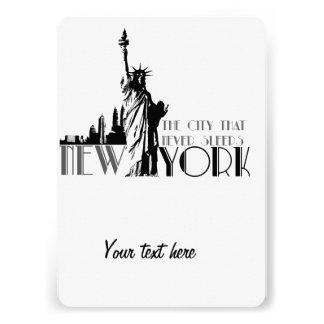 Love New York Personalised Invite