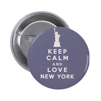 Love New York New York Button