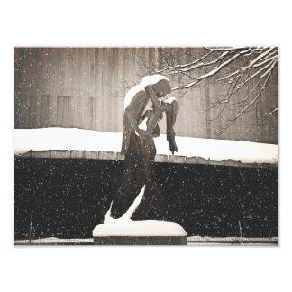 Love - New York Winter Photo Art