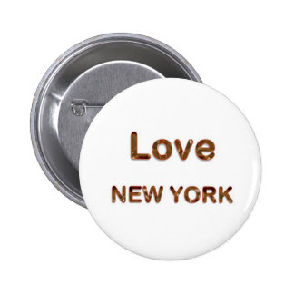LOVE NewYork NEW York Buttons