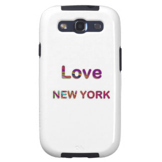LOVE NewYork NEW York Samsung Galaxy SIII Cover