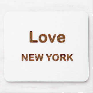 LOVE NewYork NEW York Mousepads