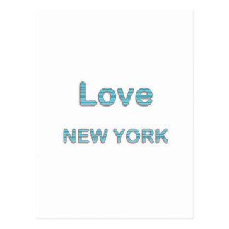 LOVE NewYork NEW York Postcard