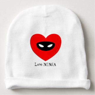 Love Ninja Baby Beanie