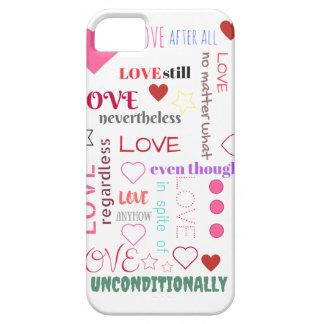 Love No Matter Phone phone case
