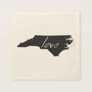 Love North Carolina Disposable Serviette