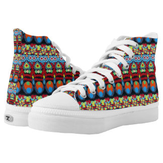 Love Nose Printed Shoes