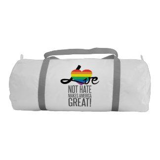 Love Not Hate (Rainbow) Duffel Bag