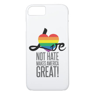 Love Not Hate (Rainbow) iPhone & Samsung Case