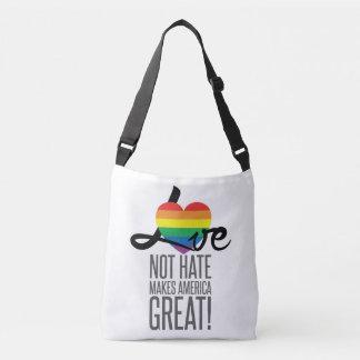 Love Not Hate (Rainbow) Sling Bag