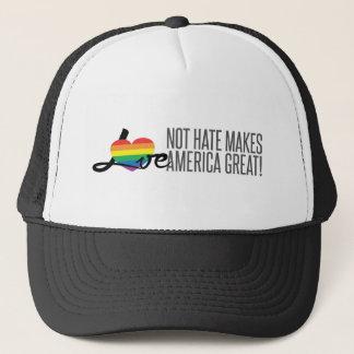 Love Not Hate (Rainbow) Trucker Hat