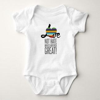 Love Not Hate (SWM) Baby Bodysuit