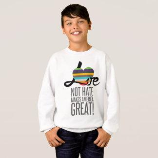 Love Not Hate (SWM) Boy's Sweatshirt